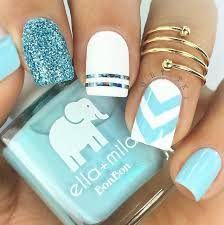 nails baby blue best nail designs 2018