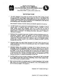 to bid invitation to bid intelligence bac