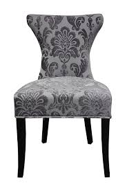 amazon com hd couture cosmo fan damask chair 2 pack grey