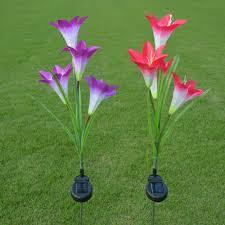 metal flower garden stakes decoration decorative garden stakes decorative garden stakes
