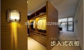 led wardrobe light closet light pir cordless wardrobe closet light