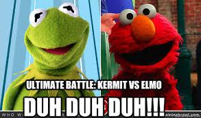 Elmo Meme - kermit vs elmo memes quickmeme