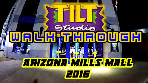 Arizona Mills Mall Map by Tilt Studio Arcade Arizona Mills Mall Walk Through August 2016