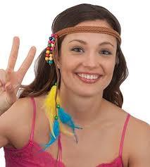 hippie headbands braided hippie headband buffalo breath costumes