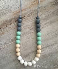 teething bead necklace images Silicone teething necklace food grade silicone beaded necklaces jpg
