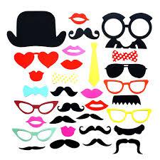 foto requisiten hochzeit shop 32 teile satz bunte bilderrahmen lippen bart