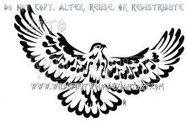 musical note tribal hawk tattoo by wildspiritwolf on deviantart