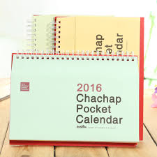 decorative desk calendar 2016 paper envelope design western