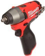 Milwaukee Lights Milwaukee M12 Fuel 3 8 Inch Impact Wrench 2454 20 U0026 29 Piece