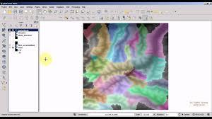 qgis viewshed tutorial qgis 2 8 tutorial hydrological analysis with grass plugin qgis