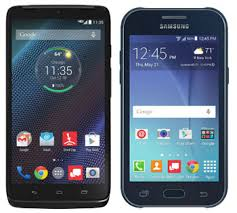 prepaid android phones verizon adds droid turbo and samsung galaxy j1 to its prepaid