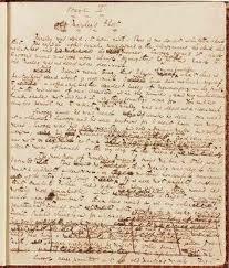 a christmas carol original manuscript