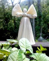 christmas tree angel angel tree topper corn husk angel christmas tree topper