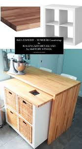 ikea rolling kitchen island 10 totally ingenious ridiculously stylish ikea hacks home