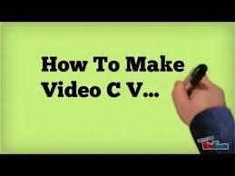 Resume Maer Video Cv Video Resume Maker Video Resume Tips Jobtardis In