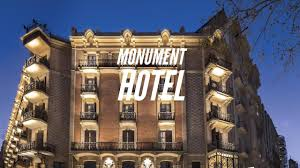 monument hotel in barcelona spain youtube