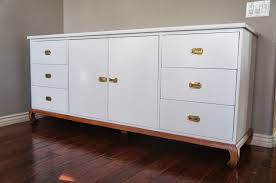 White Lacquered Sideboard European Paint Finishes White Lacquer Console