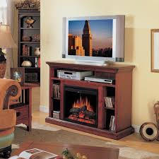 classic flame beverly home theater electric fireplace in cherry