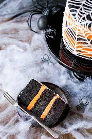 Chocolate Orange Halloween Cake Spiderweb Cake Liv For Cake