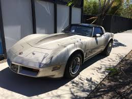 1982 corvettes for sale by owner 1982 corvette collectors edition 1 owner barn find project