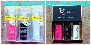 nail art pens models own v u0027s primark a comparison mammaful