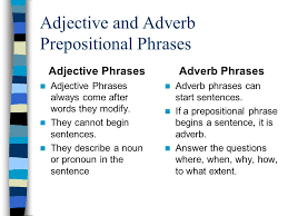 phrases and commas phrases are groups of words that work as one