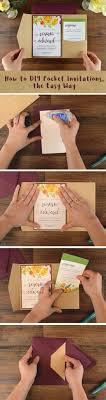 diy pocket invitations how to diy pocket invitations the easy way cards pockets