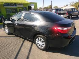 toyota corolla 2014 gray 2014 toyota corolla l 4dr sedan 4a in houston tx rodriguez