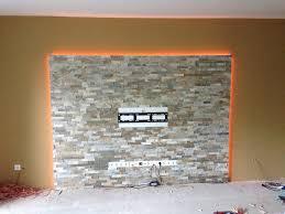 Wohnzimmerm El Selber Bauen Uncategorized Schönes Raumbeleuchtung Tv Wand Mit Kamin