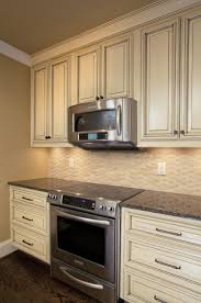 Stone Backsplashes For Kitchens Interior Luxurius Stacked Stone Backsplash Style On Home Remodel
