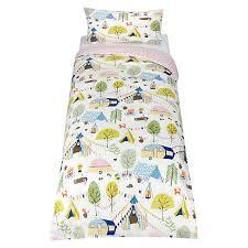 Toddler Duvet John Lewis Buy Little Home At John Lewis Camping Duvet Cover And Pillowcase