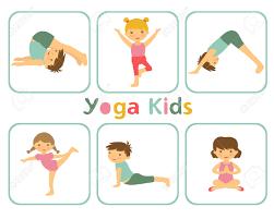 kids doing yoga clipart clipartxtras