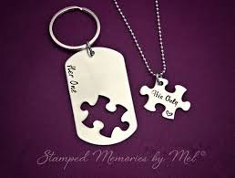 his and hers dog tags one his only dog tag puzzle set idealpin