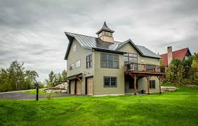 new farmhouse plans attractive yankee barn house plans 7 a new built to look like