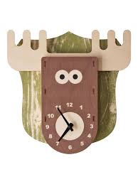 modern moose moose clock fun products pinterest moose
