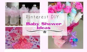 Baby Showers Ideas by Pinterest Diy Baby Shower Ideas For A Youtube