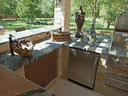 cheap outdoor kitchen ideas hgtv with simple outdoor kitchen