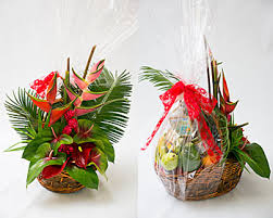 chagne gift basket tropical splendor basket our finest quality hawaiian gourmet gift