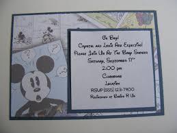 Free Mickey Mouse Baby Shower Invitation Templates - mickey mouse baby shower invitations by putting mesmerizing free