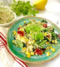 sundried tomato basil u0026 raw corn quinoa salad recipe kimberly