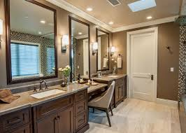 Double Vanity Bathroom Ideas Charming Double Sink Vanity With Makeup Table And Single Dressing