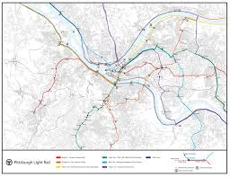 Portland Light Rail Map by Thesis Pittsburgh Public Transportation Here It Is I Couldn U0027t