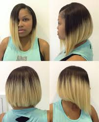 how to do a bob hairstyle with weave quick weave bob an blond pinterest quick weave bobs and