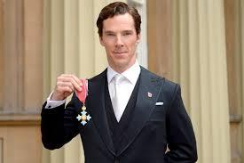 Queen Elizabeth by Benedict Cumberbatch Receives Honor From Queen Elizabeth Ii