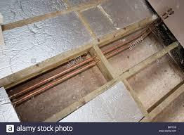 Insulation Under Laminate Flooring Floor Insulation Stock Photos U0026 Floor Insulation Stock Images Alamy