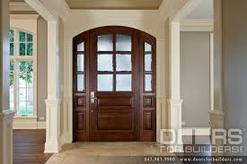 wood and glass exterior doors classic collection solid wood entry door true divided privacy