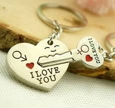 heart key rings images Liroyal couple keychain keyring quot i love you jpg