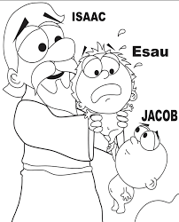 new coloring page jacob and esau pages jacob and esau with pages