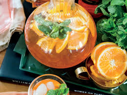 aperol and blood orange mint spritz recipe southern living
