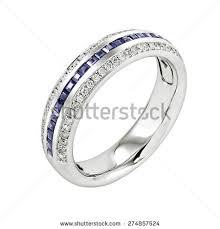 Diamond Sapphire Wedding Ring by Sapphire Ring Stock Images Royalty Free Images U0026 Vectors